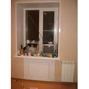 Изготовление и монтаж пластикового окна фото