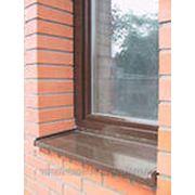 Монтаж отливов на окна фото