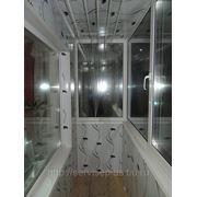 Изготовление и монтаж балконов из ПВХ профиля фото