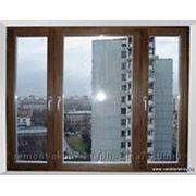 Установка и ремонт деревянных евроокон фото