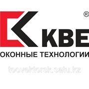 Окна металлопластиковые цветные КВЕ в Алматы фото
