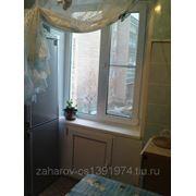 Пластиковые окна REHAU на кухню. фото
