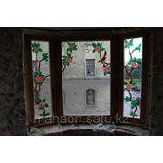 Заливной витраж , окно 2 фото