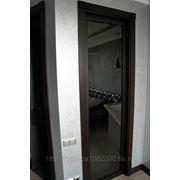 Заполнение дверного проема остекленным блоком 2100*900 фото