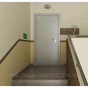 Монтаж металлических дверей фото