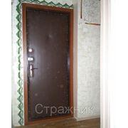 Обивка, утепление, шумоизоляция входных дверей. Железнодорожный, Балашиха, Новокосино. фото