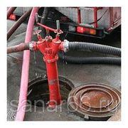 Испытание пожарных гидрантов на водоотдачу фото