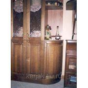 Фасад мебельный гнутый (массив) фото