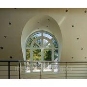 Круглые, овальные и арочные формы пластиковых окон фото