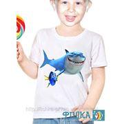 Печать на детских футболках за 15 мин. фото