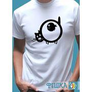 Поздравительные футболки на заказ. фото