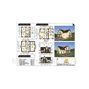 Архитектурные решения. Индивидуальный жилой дом, 264кв.м