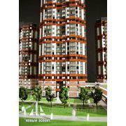 Изготовление макетов жилых домов, зданий фото