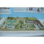Макет Школа, детский сад в г.Махачкала фото