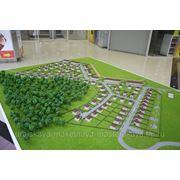 Градостроительный, планировочный макет фото