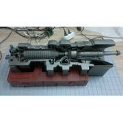 Макет Двигатель ГТ-750-6 фото