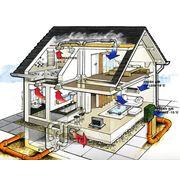 Проектирование вентиляции загородного дома, коттеджа, квартиры, дачи фото