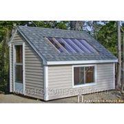 Строительство теплых домиков, теплушек. фото