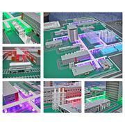 Макеты заводов, промышленных объектов фото