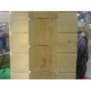 Клееный брус (погонаж) длина до 6 метров фото