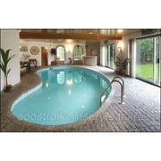 Строительство плавательного бассейна фото