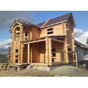 Строительство деревянного дома под ключ фото