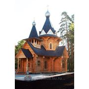 Строительство церквей. фото