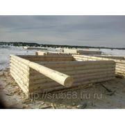Срубы деревянных домов в Пензе фото