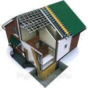 Строительство домов по каркасно-панельной технологии фото