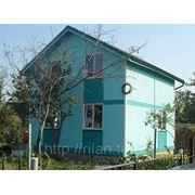 Строительство каркасных домов, дач, бань. фото