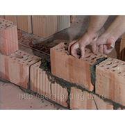 Каменная кладка перегородок из кирпича от 60 мм фото