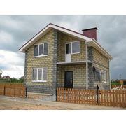 Строительство домов из теплоэффективных блоков фото