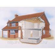 Строительство коттеджей, домов, особняков фото
