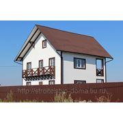 Строительство индивидуального жилого дома фото