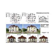 Архитектурные решения. Индивидуальный жилой дом фото