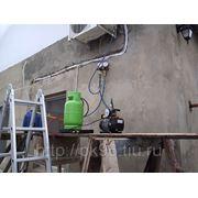 Монтаж кассетного;подпотолочного кондиционера стандартный 18 (1 стена, трасса до 5 м.) фото