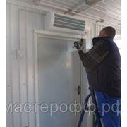 Монтаж тепловой завесы длинной от 100 до 185 см., высота установки до 3 м., без подводки электропитания фото