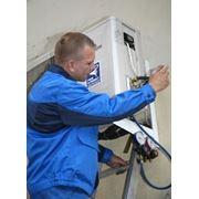 Монтаж кондиционеров и систем вентиляции фото