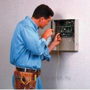 Монтаж прибора охранно-пожарной сигнализации фото