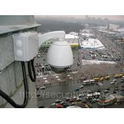 Монтаж IP-видеокамеры фото