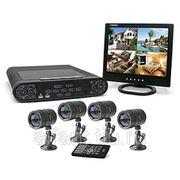 Установка систем видеонаблюдения и охраны фото