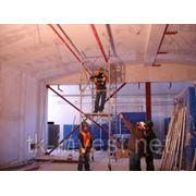 Монтаж системы охранно-пожарной сигнализации в помещеннии от 100 кв.метра фото