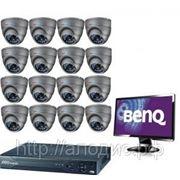 """""""Lite-16GSM"""" Комплект видеонаблюдения на 16 камер(Монтаж и коплект GSM-video в подарок) фото"""
