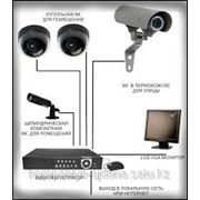 Система видеонаблюдения фото