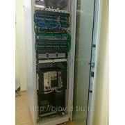 Монтаж структурированных кабельных сетей, СКС, программирование АТС. Краснодар фото