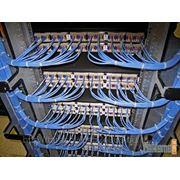 Монтаж и настройка структурированных кабельных сетей фото