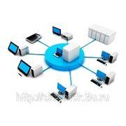 Локально-вычислительная сеть (ЛВС) фото