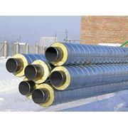 Теплоизоляция стальных труб ППУ фото