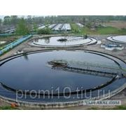 Гидроизоляция очистных сооружений. фото