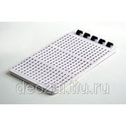 Самоклеющиеся маркеры (A-Z, /, +,-, 0-15) Hyperline WMB-2 переплет (10 листов) фото